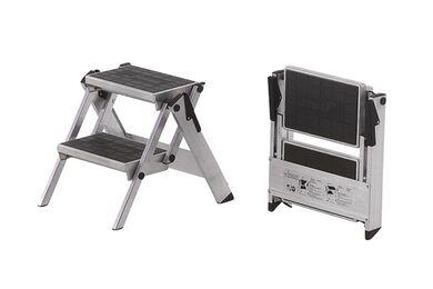 LITTLE JUMBO Compact Werkbordes 200 2 Treden Geanodiseerd