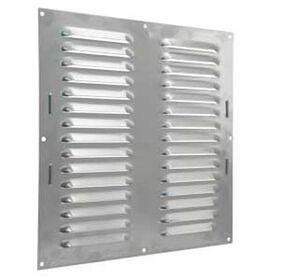 starx schoepenrooster aluminium 300x300mm