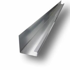 rheinzink verholen goot voor dakkapel walsblank 100x105x3000