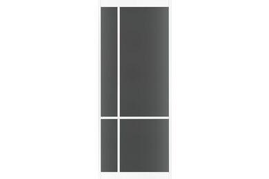 SKANTRAE SSL 4209 Rook Glas Stompe Deur FSC MAATWERK T/M 2015mm