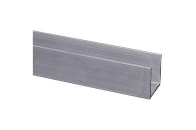 U-Profiel Aluminium 25x25x2000mm