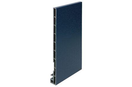keralit dakrandpaneel 2821 classic staalblauw 5011 200x20x10 6000mm