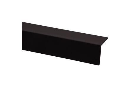 kunststof hoekprofiel zwart 30x30x2600