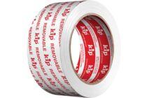 KIP Stuclopertape PE Wit Verwijderbaar 362-55 50mmx33m