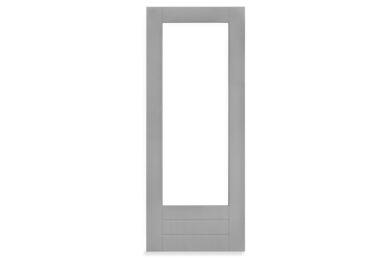MILLPANEL Massieve deur AluProfiel Grijs Gegrond Stomp FSC 830x2115mm BW40