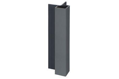 KERALIT 2828 Uitwendig Hoekprofiel Basaltgrijs Classic Nerf 32x32x4000mm