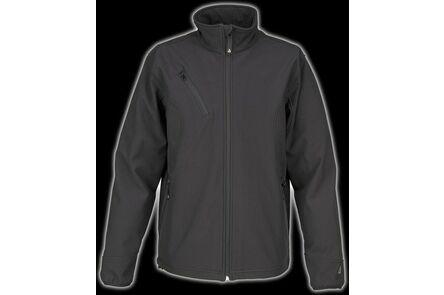 artelli pro softshell jas zwart xl