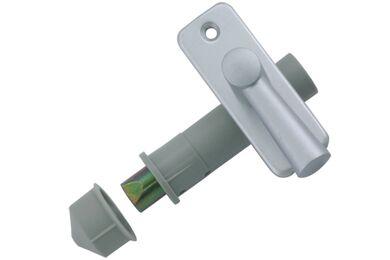 NEMEF Insteekgrendel Serie 2610 Aluminium F1 50mm