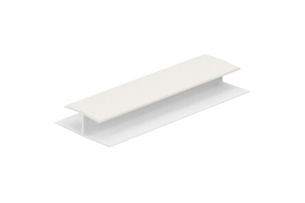 keralit tussenverbindingsprofiel 0420 wit 9016 10x5200