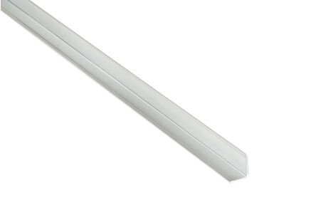 fibo eindprofiel small aluminium 2400mm
