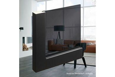 SKANTRAE SSL 4028 Rook Glas Stompe Deur FSC 930x2315mm