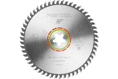 FESTOOL Speciaal-zaagblad 190x2,6 FF TF54