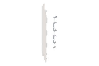 KERALIT 2884 Eindkap + Connector Links Voor 2819 Wit Classic Nerf