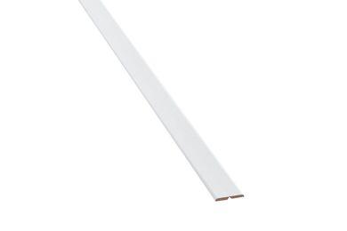 Agnes One-Step Kniklijst 54F Kristal wit Trendline 4,3x51x2600mm