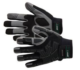 artelli pro-mechanic handschoen single heavy nylon grijs-zwart maat 9