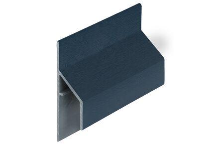 keralit aansluitprofiel 2810 trim/kraal classic staalblauw 5011 6000mm