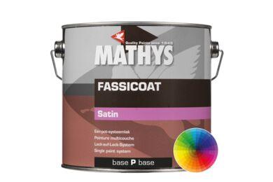 MATHYS Fassicoat Satin Systeemlak Basis Satin Pastel 2,5ltr