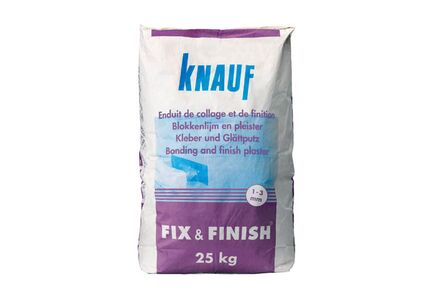 knauf fix en finish zak 25kg