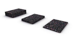 upm profi deck rubbermat 60x90x3mm 60/pak