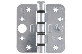 axa smart kogelscharnier ronde hoeken 1677-09-23e 89x89mm verzinkt