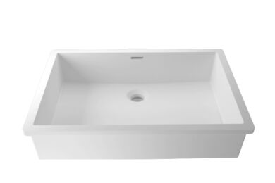 Krion Solid Surface Spoelbak B820 E Snow White 500x350x167mm