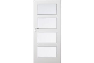 SKANTRAE SKS 1235 C1 Facet Blank Glas Opdekdeur Rechts FSC 880x2015mm