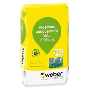 weber.floor vloeibare zandcement zak 25kg