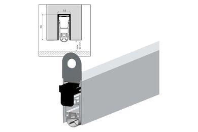 ELLEN Ellenmatic Valdorpel Uniproof Aluminium 930mm