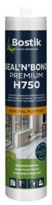 bostik h750 constructie- en montagelijm zwart