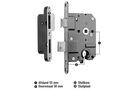 NEMEF Cilinderslot Rechthoekig Links/Rechts Type 1279 SKG1 174x20mm