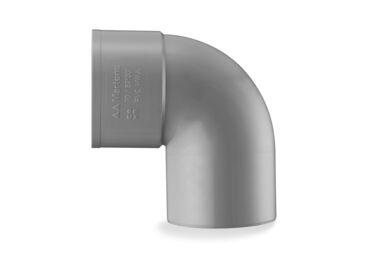 MARTENS PVC Bocht 1x Lijmmof 90° 75mm