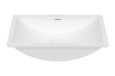 Krion Solid Surface Spoelbak B821 E Snow White 500x300x187mm