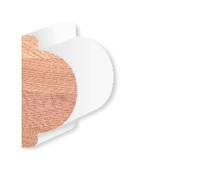 Totem Western red cedar Gootlijst Gegrond 32x63x4600mm
