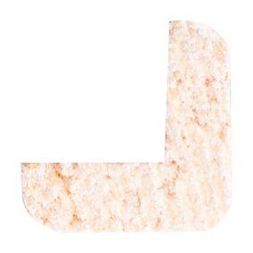 grenen hoeklat wit gegrond fsc mix 70% 13x13x2700