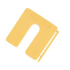 uitvulplaatjes 2mm geel dispenser a 200st