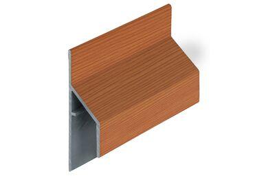 KERALIT 2810 Trim/Kraal Aansluitprofiel 17mm Western Red Ceder Classic Nerf 6000mm
