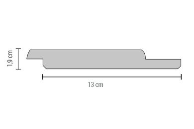 Accoya Channelsiding Rabat FSC 19x145x4800mm