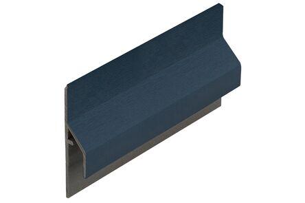 keralit aansluitprofiel 2843 trim/kraal classic staalblauw 5011 6000mm