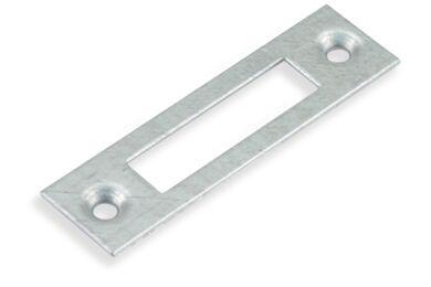 NEMEF Sluitplaat P1256/12 Voor Stompe Deur Verzinkt Links/Rechts