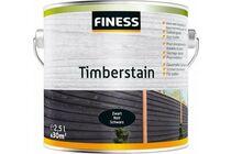finess timberstain houtbeits zwart 2,5ltr