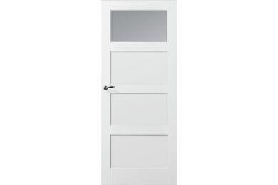 SKANTRAE SKS 235 C1 Opdekdeur Links Blank Glas FSC 880x2015mm