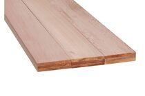 Western red cedar Plank Geschaafd 4 rechte hoeken PEFC 70% 22x200x4300mm