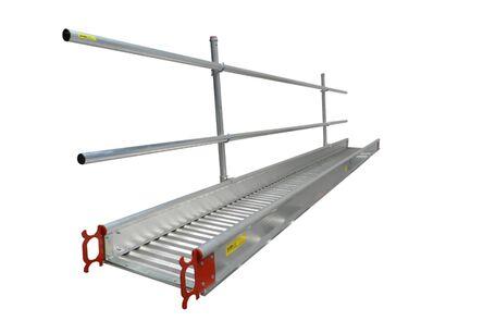 werkbrug universeel aluminium met inhaken 600x5000mm