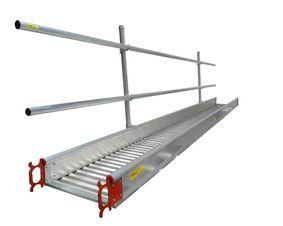 werkbrug universeel aluminium met inhaken 600x6000mm