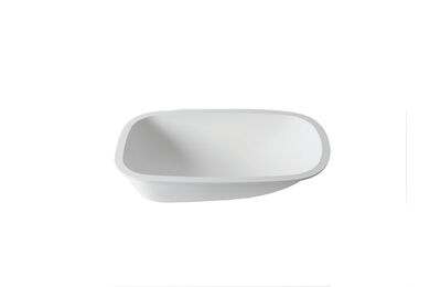Krion Solid Surface Badkuip T802 E WH Snow White 700x420x192mm