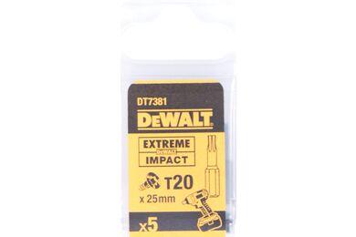 DEWALT DT7381T-QZ Impact Torsion 25mm Torx T20