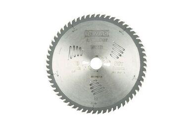 DEWALT DT4351-QZ Cirkelzaagblad 60-tands 250x30mm