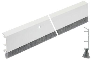ELLEN Deco Dorpelstrip Binnendraaiend PDS-B Creme Hard PVC 1000mm