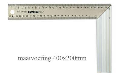 STANLEY Winkelhaak 400x200mm