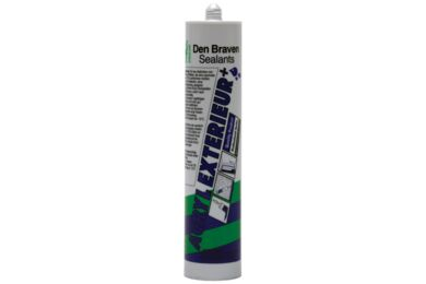 DEN BRAVEN Acryl Exterior+ Wit 310ml